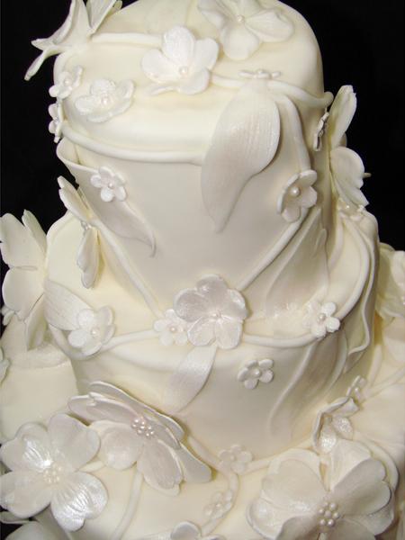 3 Tier Fondant Cake