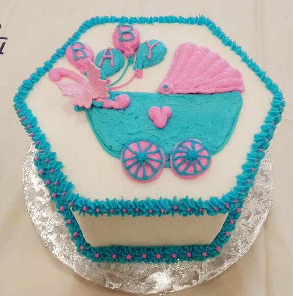 Baby Shower Mini Cake
