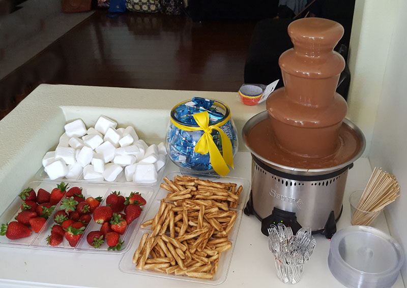 DIY Chocolate Fountain