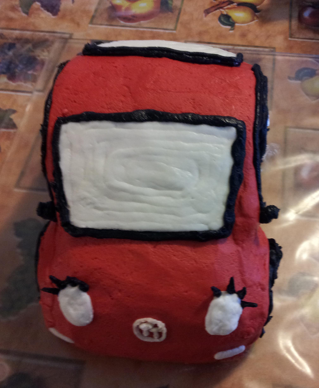 Volkswagen Buttercream Cake