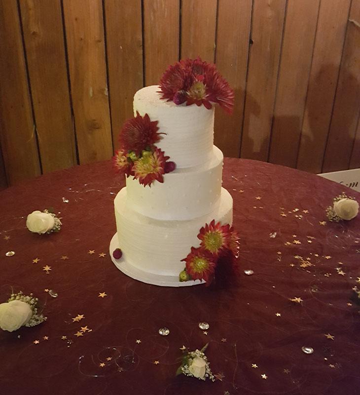 3 Tier Buttercream Cake