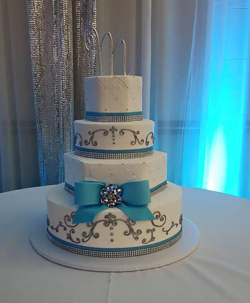 4 Tier Buttercream Cake