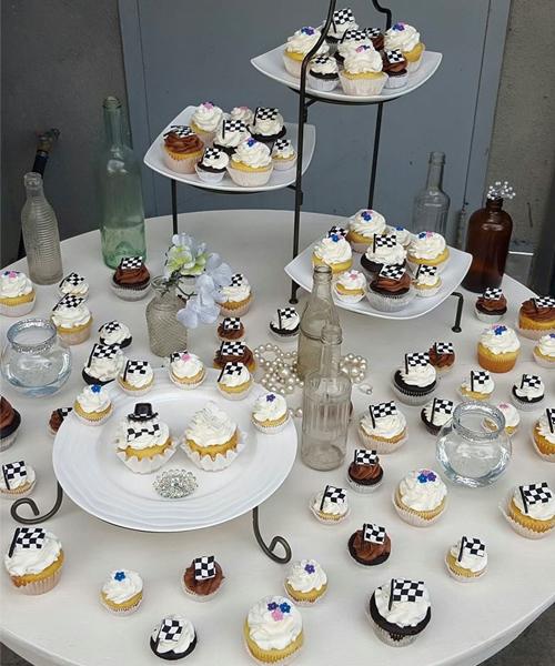 Race Car Theme Cupcakes