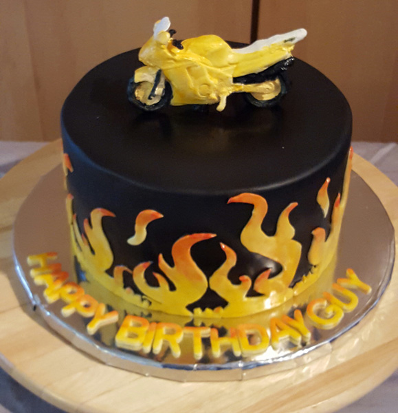 Flame Cake