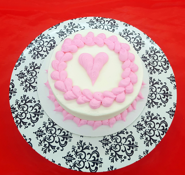 Anniversary Buttercream Cake