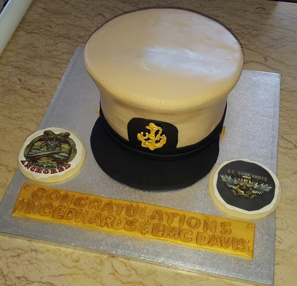 Fondant Chief Promotion Cake