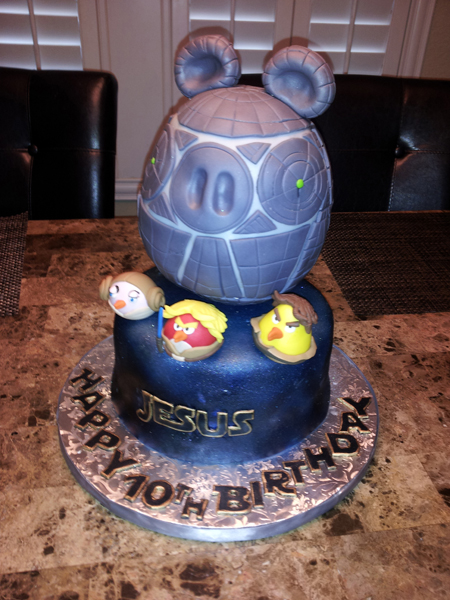 StarWars Angry Birds Cake