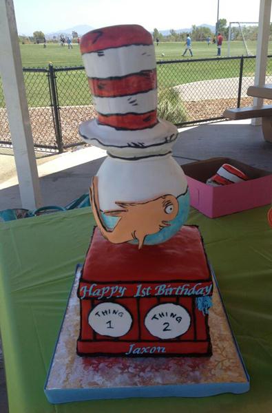 Dr. Seus Cake