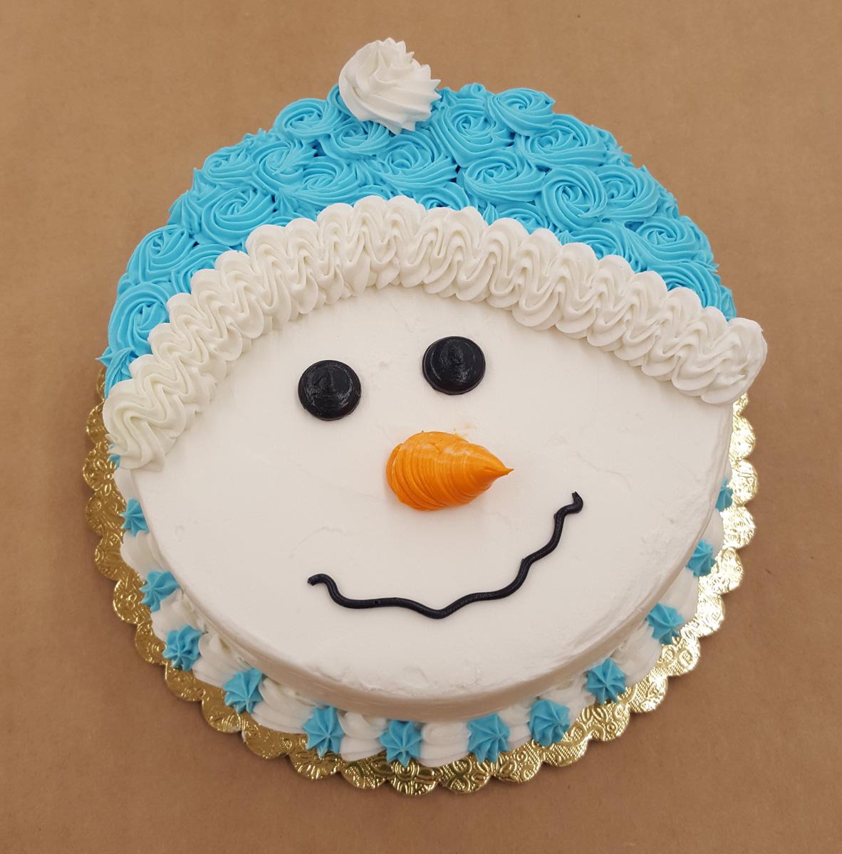 Snowman Mini Cake
