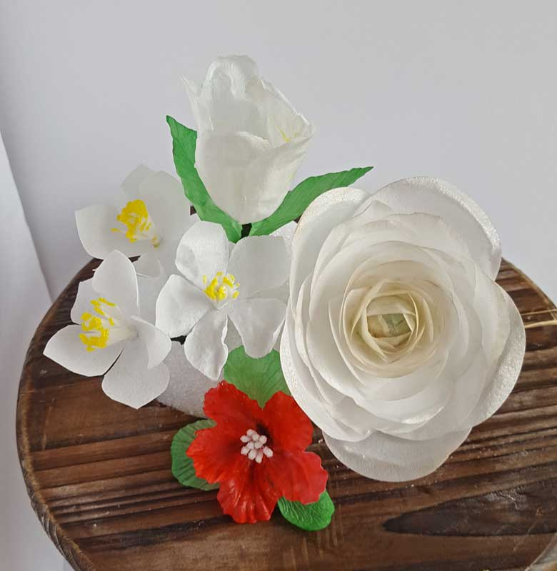 Rice paper flower course 2 may 7 2017 10am vero cakes rice paper flower mightylinksfo