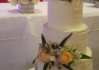 Flower Whipcream cake
