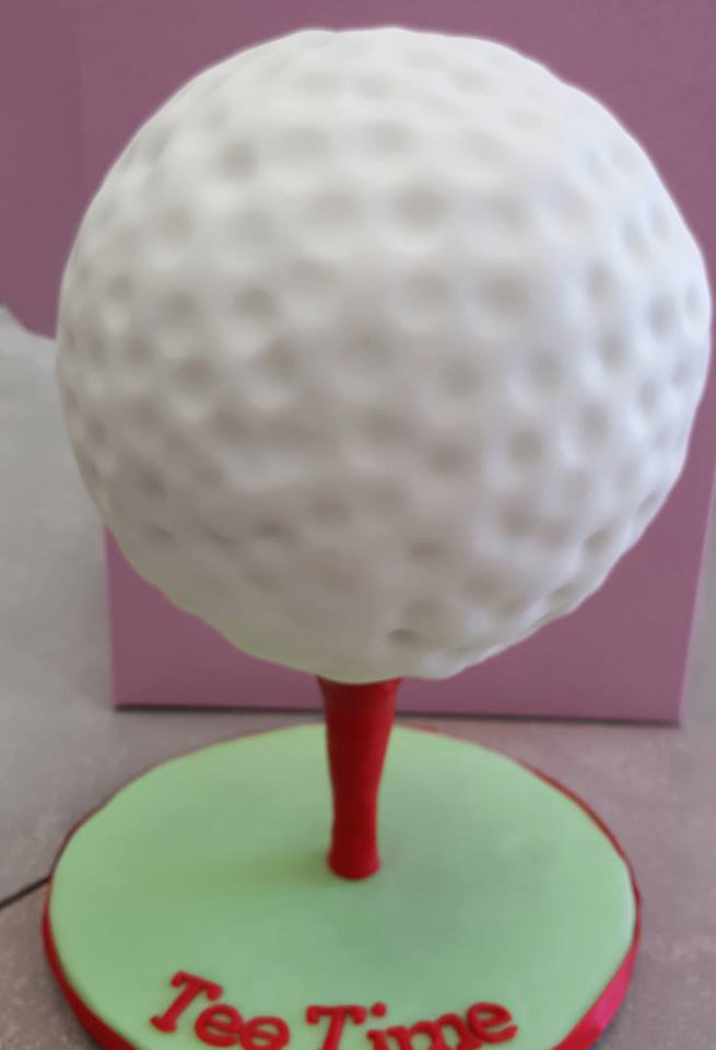 Golf 3D Cake