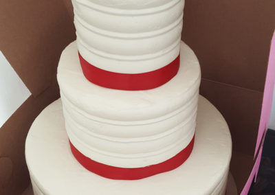 3 Tiered Buttercream Cake