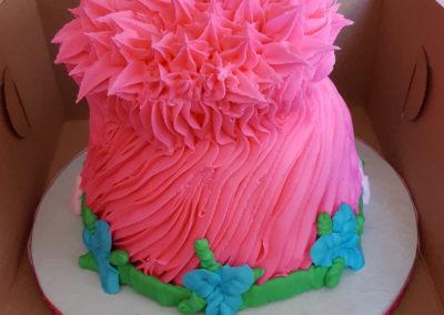 Troll Hair Cake